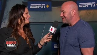 Dana White talks Tyron Woodley vs. Gilbert Burns, Miocic vs. Cormier 3 | UFC Fight Night Post Show