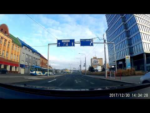 Driving Ostrava - Brno (Czech Republic) 190km