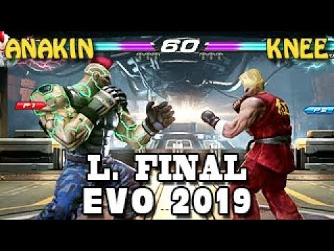 Anakin (JACK-7) Vs Knee (Paul) - L. Final - Tekken 7 World Tour