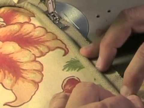 Welting or Piping a Pillow