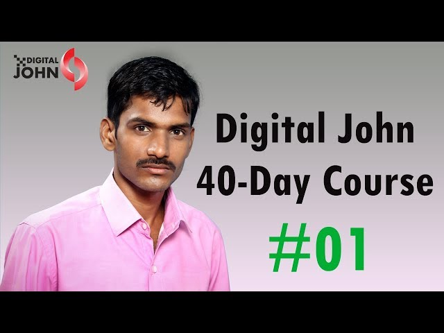 What is Marketing in Telugu || Digital John