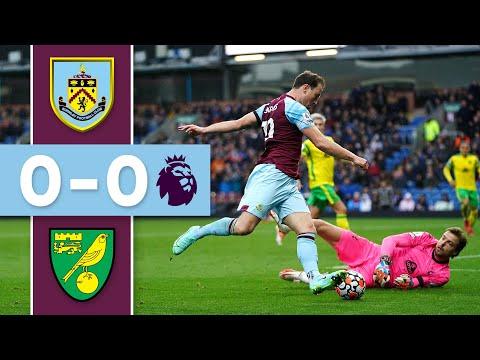CLARETS LEFT FRUSTRATED   Burnley v Norwich   Premier League