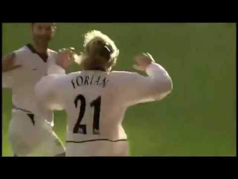 Diego Forlan's 2 goals vs. Liverpool at Anfield