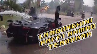 Lamborghini Raffi Ahmad Terbakar Di Sentul Bogor 13 Milyar Hangus