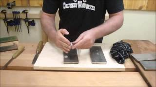 Bench Talk #3 Sharpening Carving Chisels