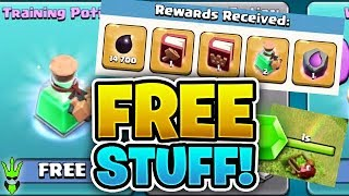 "I LOVE GETTING FREE STUFF IN ""Clash of Clans"" - Free to Play TH10 Ep. 5"