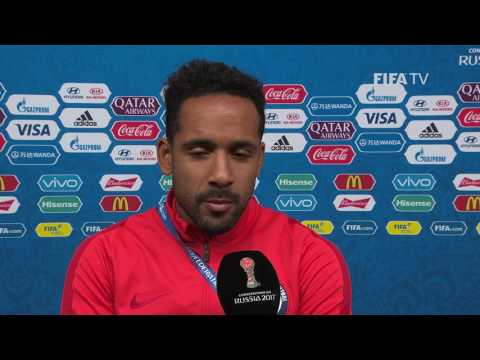 Jean BEAUSEJOUR -  Post-Match Interview - Match 13:  Portugal v Chile - FIFA Confederations Cup 2017