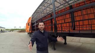 видео Продажа бортовых полуприцепов, купить бортовой полуприцеп новый или б/у