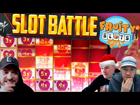 LATEST FRUITY SLOTS BATTLE feat New Online Slots!!