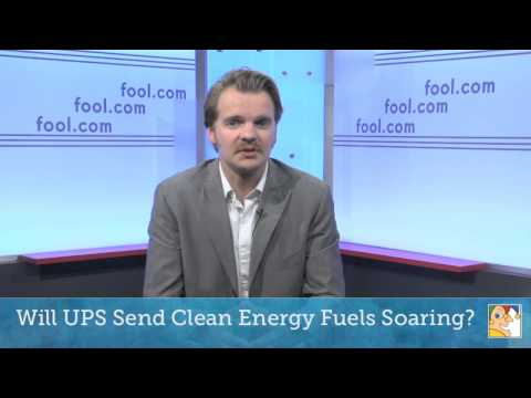 Will UPS Send Clean Energy Fuels Soaring?