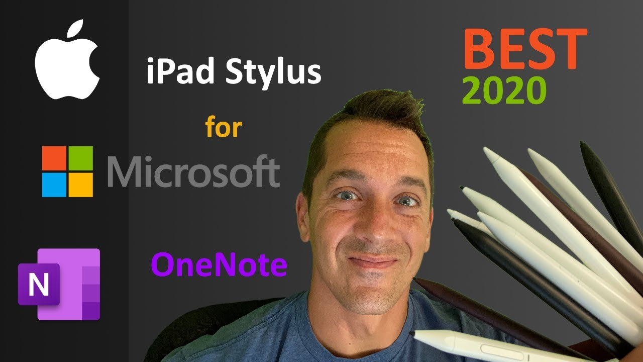 Best iPad stylus for note taking - comparison review - quiet stylus with a rubber tip, not plastic