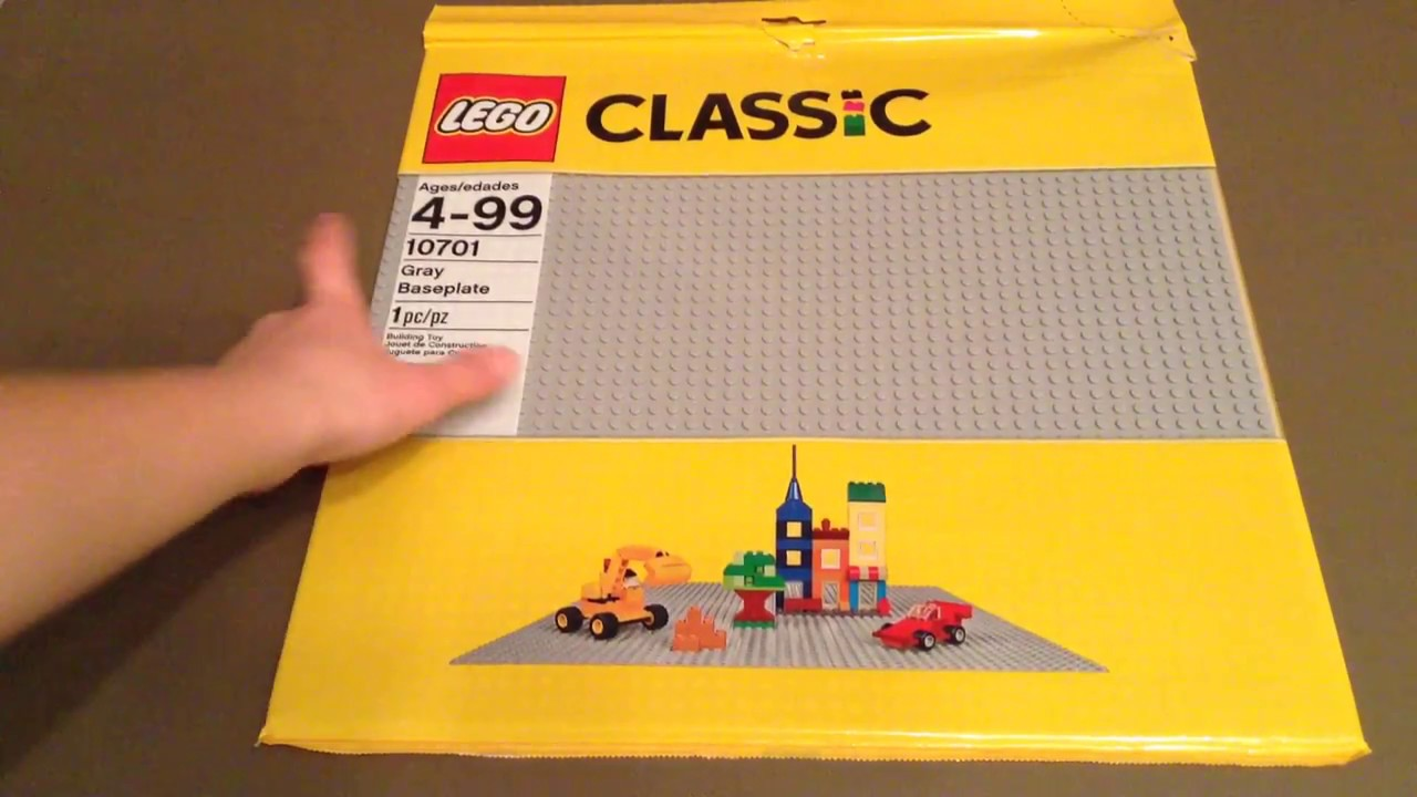 Extra Large Lego Baseplate Review Gray