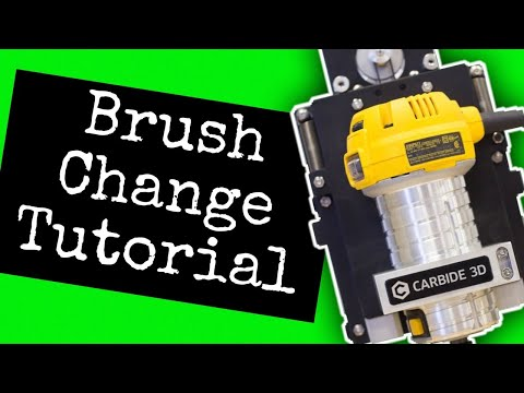 How to change the brushes in your Dewalt Router/Why wont the