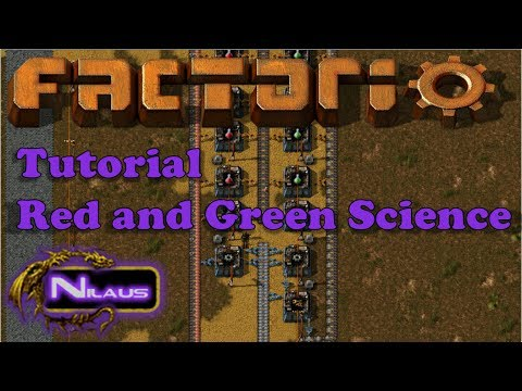 Factorio Tutorial - 5. Red and Green Science