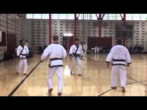 2 on 1 Demo from my last Black Belt Testing.  Enjoy and DON'T Try this at home ^_^  -Ippo