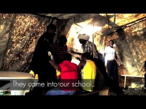 Peace Lives - Child Soldier Reenactment, DRC (Democratic Republic of Congo)