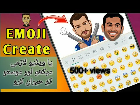 Create Emoji From your Photo by subhan technical
