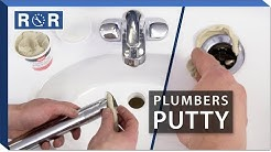 How to Use Plumbers Putty | Repair and Replace