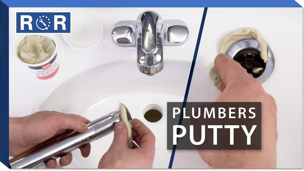 How To Use Plumbers Putty Repair And