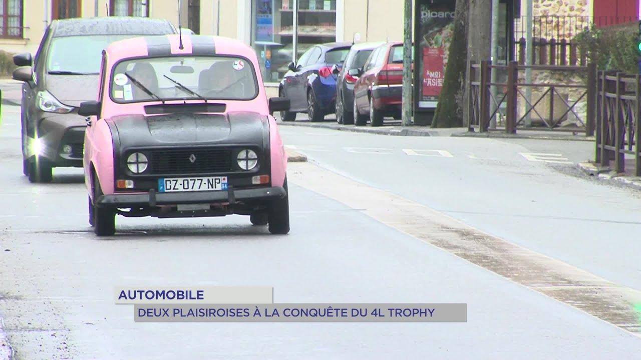 Yvelines | Automobile : Deux Plaisiroises à la conquête du 4L Trophy