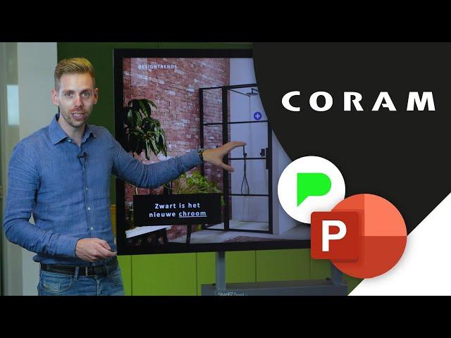 Dynamisch Salespresentatie Coram | Portfolio | PPT Solutions