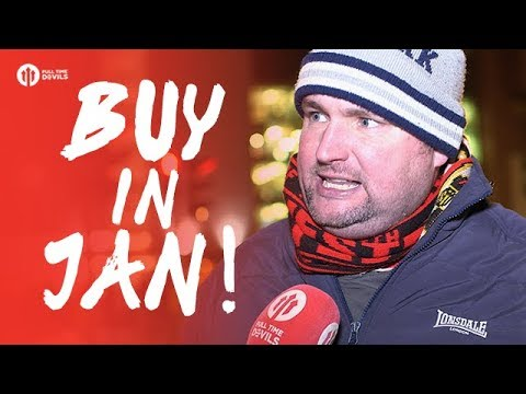 Andy Tate Rant: GOT TO BUY IN JAN! Manchester United 1-2 Manchester City FANCAM