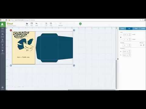 How to Size and Make Cricut Simple Pop Up Cards