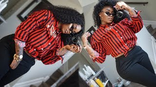 Last minute GRWM: Hair,  Makeup, Outift | Tomboy Edition with a little glam 😎 | #slimthick | Ywigs