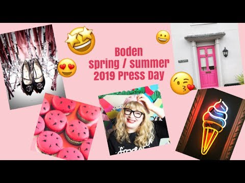 Boden Clothing Spring / Summer S19 Press Day Showcase // Fashion For Summer