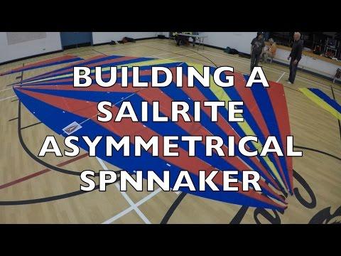 Life is Like Sailing - Building a Sailrite Asymmetrical Spinnaker Kit