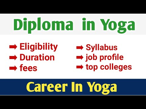 Diploma in yoga full information in Hindi | career in yoga |DYNS |diploma in yoga and naturopathy |