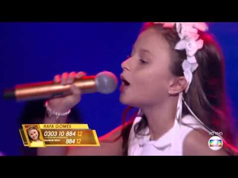 Rafa Gomes canta 'Sítio do pica pau amarelo' no The Voice Kids - FinalTemporada 1