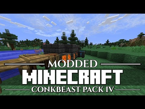 ConkBeast Modpack IV - #04: Executive Decisions (Let's Play Minecraft Modded/FTB)