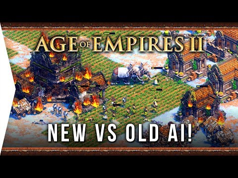 New AI VS Old AI! ► Age Of Empires II: Definitive Edition - The AoE 2 Computer Is 'Smarter'