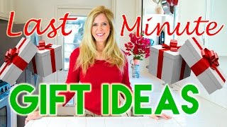 Last Minute Gift Ideas for Christmas Practical and Creative