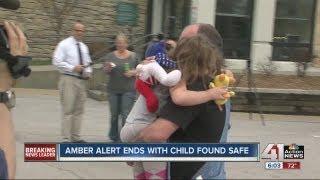 Girl found safe, Amber Alert canceled