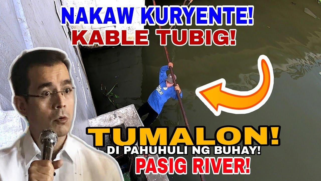 Download MGA MAGNANAKAW NG KURYENTE CABLE SA JONES BRIDGE! PINALAYAS LAHAT! MANILA CLEARING UPDATE
