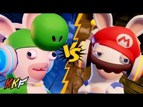 Versus Mode: Make Haste Slowly (2 Player) - Mario + Rabbids Kingdom Battle