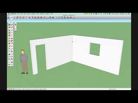 Let's all learn to design a kitchen in Sketchup