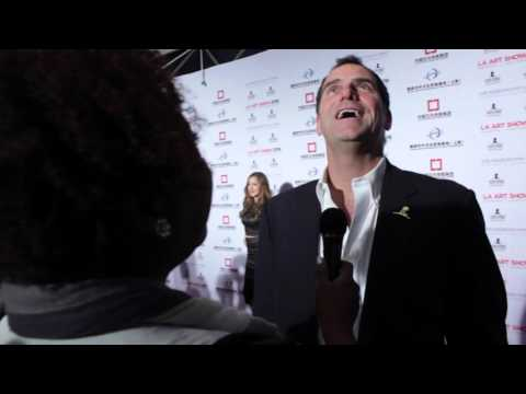 LA Art Show 2016 Red Carpet - Andy Buckley streaming vf