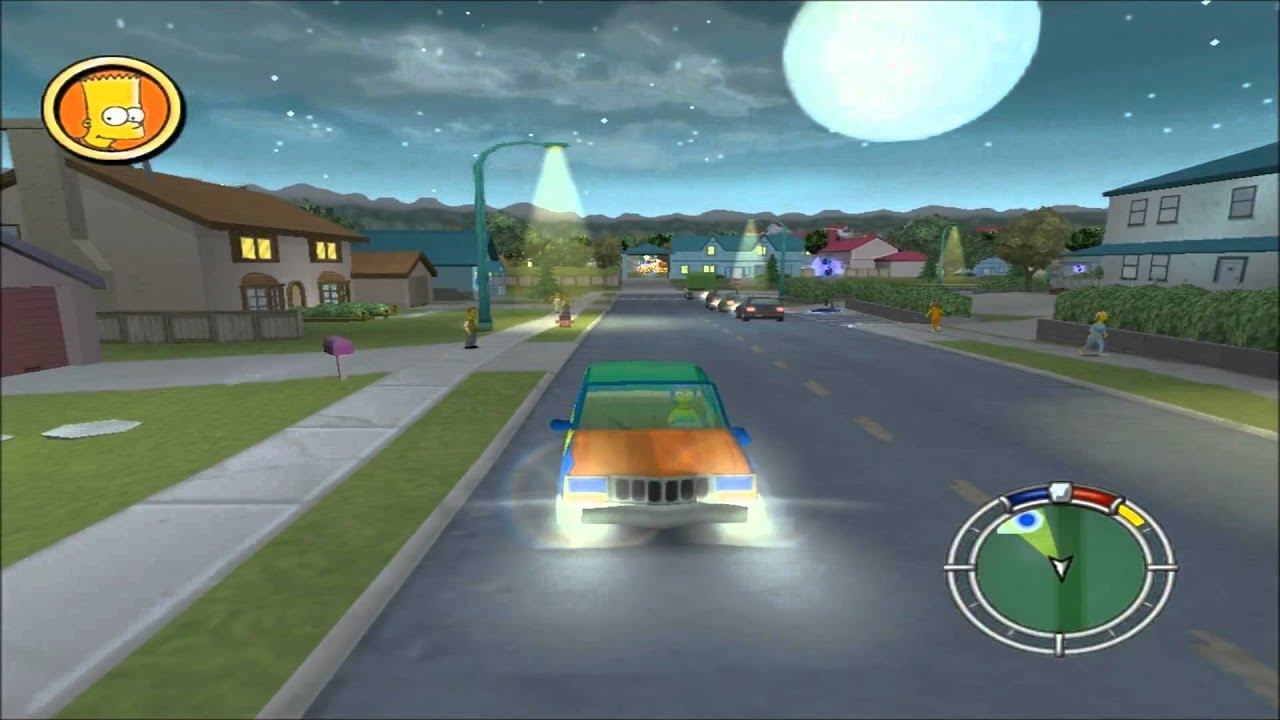 Los Simpsons Hit & Run pc full español
