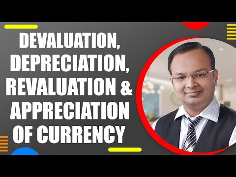 #2 | BOP | Devaluation, Depreciation , Revaluation and Appreciation of currency