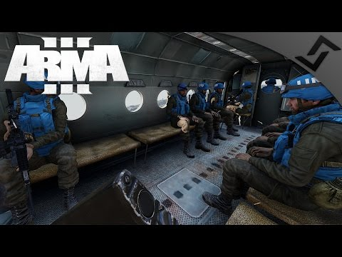 UN Peacekeepers under Fire - ARMA 3 Zeus Gameplay