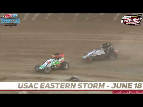 USAC comes to Bridgeport Speedway for Eastern Storm