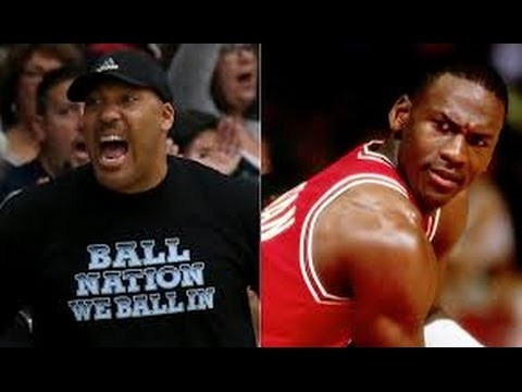 Michael Jordan reacts to Lavar Ball!!!