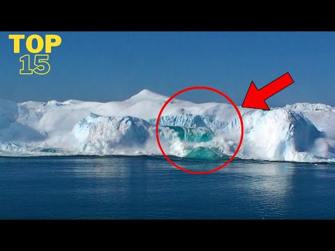 Glacier Calving | 15 Amazing Collapses, Tsunami Waves and Icebergs