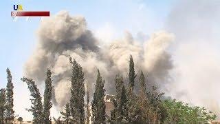 США, Великобритания и Франция нанесли ракетный удар по Сирии