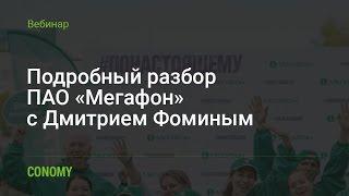 Обзор ПАО «Мегафон»