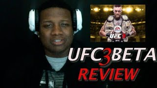 UFC 3 BETA GAMEPLAY REVIEW MY OPINION