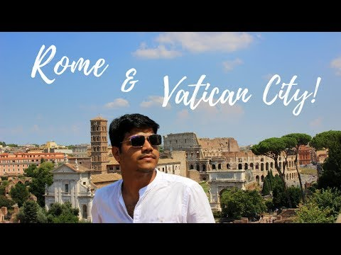 EUROPE  TRIP!!! VLOG || EP 02 -ROME & VATICAN CITY || ENGLISH | বাংলা!!
